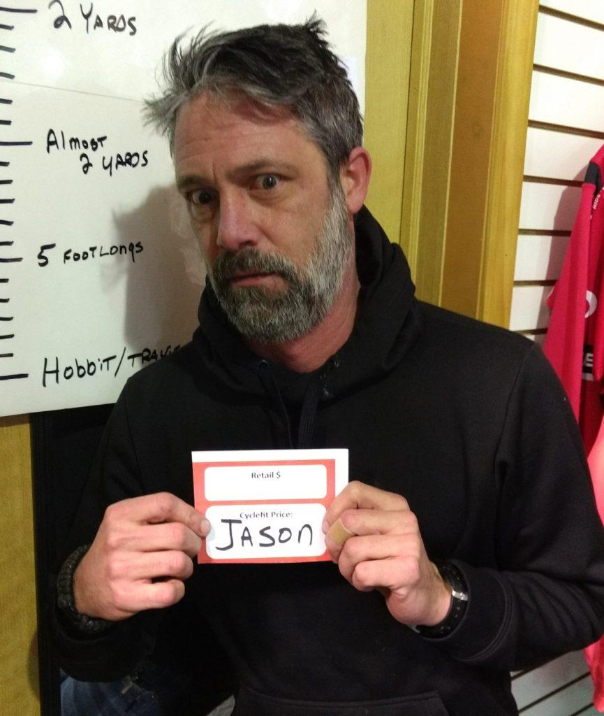 Jason at Cyclefit